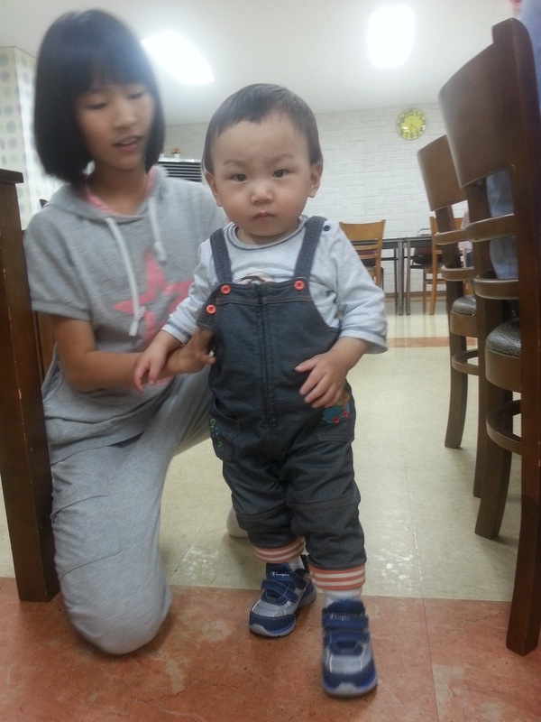 King Baby and his new kicks!